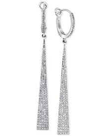 Geo by EFFY® Diamond Drop Earrings (3/4 ct. t.w.) in 14k White Gold
