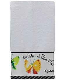 "Flutterby 11"" x 18"" Fingertip Towel"