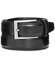 "Men's 1 1/4"" Feather Edge Stitch Dress Belt"