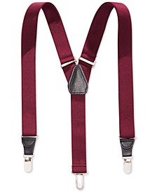 25mm Skinny Solid Suspenders, Created for Macy's