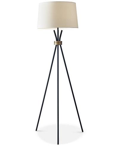 Adesso Benson Tripod Floor Lamp