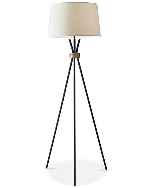 Adesso Benson Tripod Floor Lamp Amp Reviews All Lighting