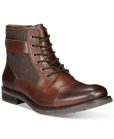 Bar III Devin Cap-Toe Utility Boots, Only at