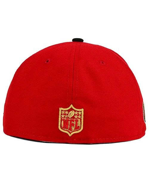 5bcd831d11a New Era San Francisco 49ers State Flective Redux 59FIFTY Cap ...
