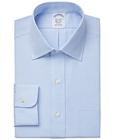 Brooks Brothers Regent Slim-Fit Non-Iron Pinpoint Solid Dress Shirt