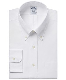 Regent Slim-Fit Non-Iron Pinpoint Solid Dress Shirt