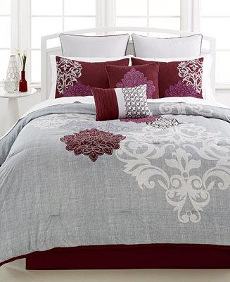 Ravenna 8 Pc Comforter Set Bed In A Bag Bed Amp Bath