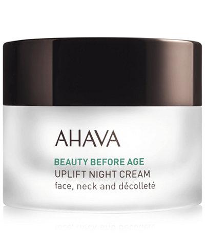 Ahava Beauty Before Age Uplift Night Cream, 1.7 oz