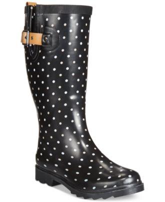 Chooka Classic Dot Rain Boots