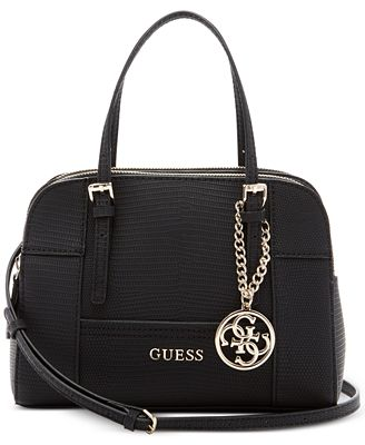 Backpack for Women On Sale, Black, Leather, 2017, one size Guess
