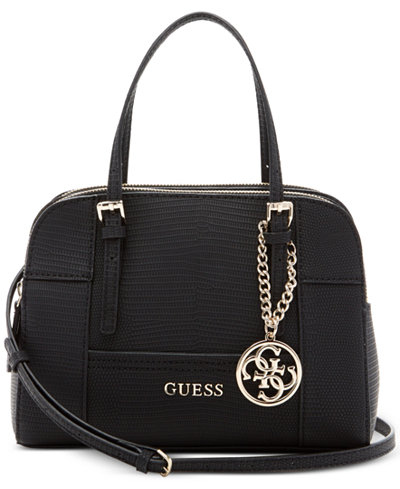 GUESS Huntley Small Cali Satchel - Handbags & Accessories - Macy's