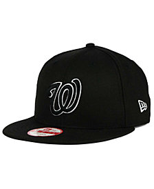 New Era Washington Nationals B-Dub 9FIFTY Snapback Cap