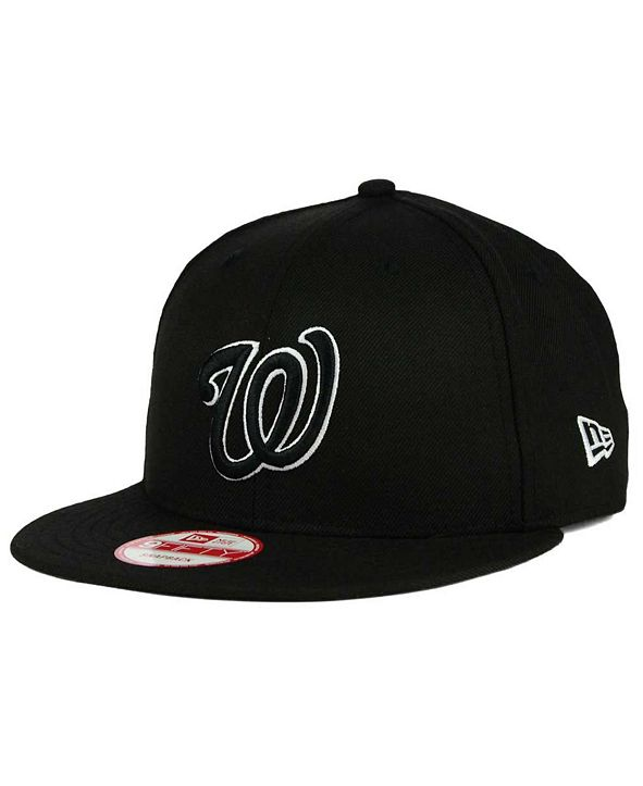New Era Washington Nationals B-Dub 9FIFTY Snapback Cap