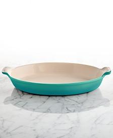 "Le Creuset Heritage Stoneware 11"" Au Gratin Dish"