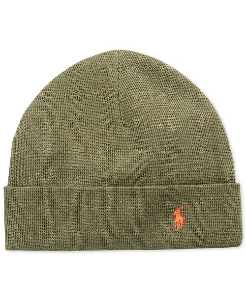 855862be228 Polo Ralph Lauren Thermal Cuffed Beanie - Hats