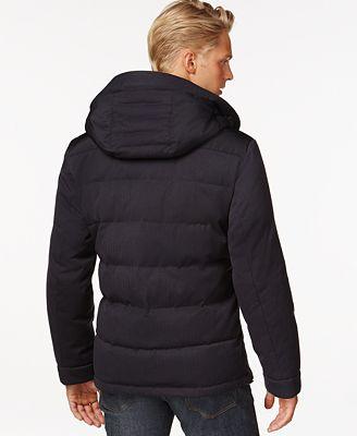 Michael Kors Men's Big & Tall Down Parka - Coats & Jackets - Men ...