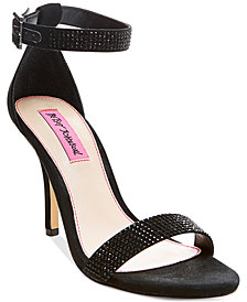 Betsey Johnson Brodway Two-Piece Dress Sandals