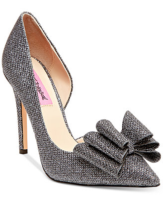 Prince D'orsay Evening Pumps by Betsey Johnson