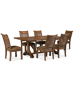 Mandara Dining Room Furniture Collection - Furniture - Macy\'s