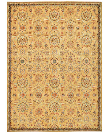 Home Ancient Times Persian Treasures Gold Area Rugs