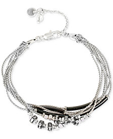 Kenneth Cole New York Two-Tone Crystal Bracelet