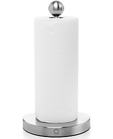 Martha Stewart Collection Stainless Steel Tearaway Paper Towel Holder, Created for Macy's