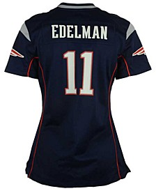 Women's Julian Edelman New England Patriots Game Jersey