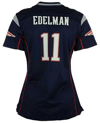 Nike Women's Julian Edelman New England Patriots Game Jersey ...