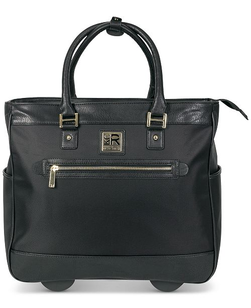 "Kenneth Cole Reaction ""Call It Off 16"" Rolling Business Tote And Carry-On Bag"