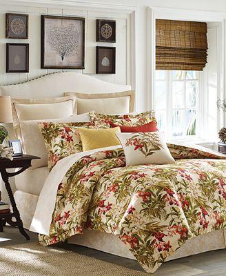 tommy bahama home daintree tropic king comforter set