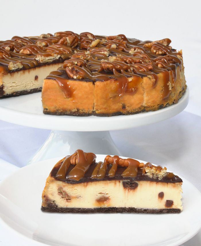 "Eli's Cheesecake - Cheesecake, 8"" Turtle Cheesecake"