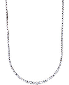 Certified Diamond Riviera Necklace (5 ct. t.w.) in 14k White Gold