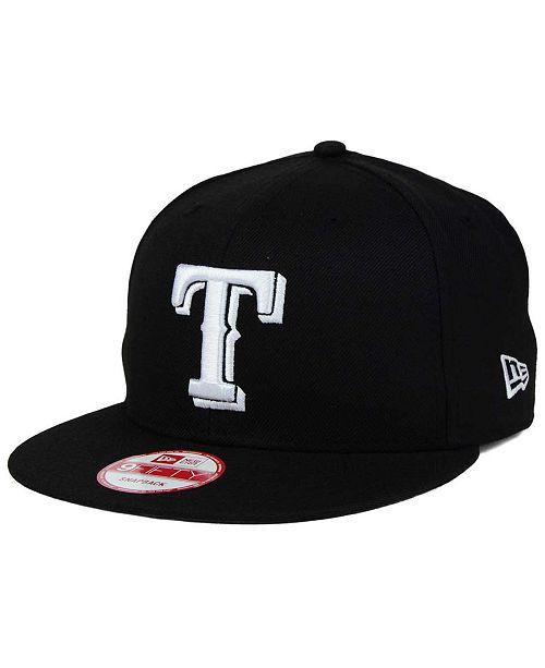 New Era Texas Rangers B-Dub 9FIFTY Snapback Cap