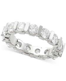 Diamond Eternity Band (3 ct. t.w.) in 14K White Gold
