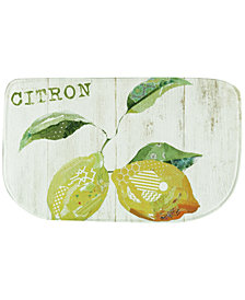 "Bacova Kitchen, Citron 18"" x 30"" Memory Foam Rug"