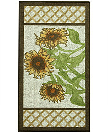 "Bacova Kitchen, Sunflower Frame 22""x40"" Rug"
