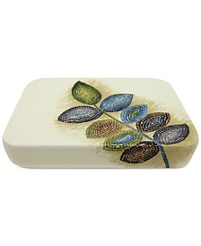 Croscill Bath Mosaic Leaves Soap Dish