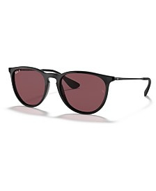 ray ban erika polarized sunglasses rb4171 54