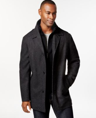 Pea Coat Men Black