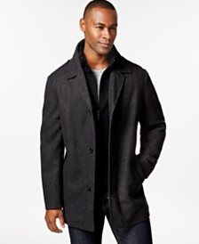 Pea Coat Men Black