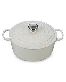 Signature Enameled Cast Iron 5.5 Qt. Round French Oven
