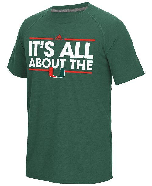 adidas Men's Miami Hurricanes Dassler Local T-Shirt