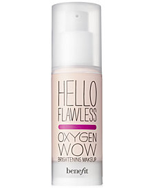 Benefit Cosmetics hello flawless oxygen wow spf 25 liquid foundation,  1 oz