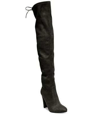 Steve Madden Women's Gorgeous Over-The-Knee Boots - Boots - Shoes ...