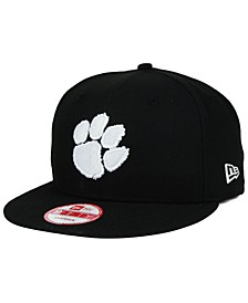 Clemson Tigers Black White 9FIFTY Snapback Cap