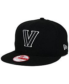 New Era Villanova Wildcats Black White 9FIFTY Snapback Cap