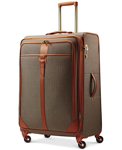 CLOSEOUT! Hartmann Herringbone Luxe 29 Long Journey Expandable Spinner Suitcase
