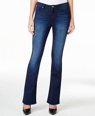 Calvin Klein Jeans Flare-Leg Inky Blue Wash Jeans
