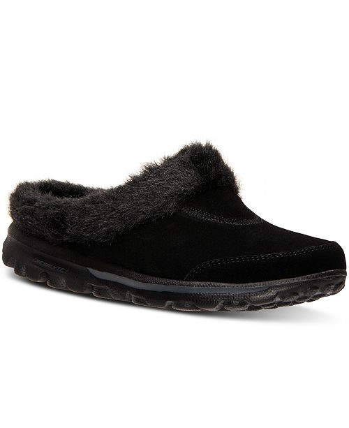 new photos classic styles meet Skechers Women's GOwalk Embrace Casual Slipper Clogs from ...