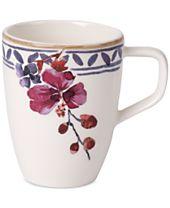 Villeroy & Boch Artesano Provencal Lavender Collection Porcelain After Dinner Cup